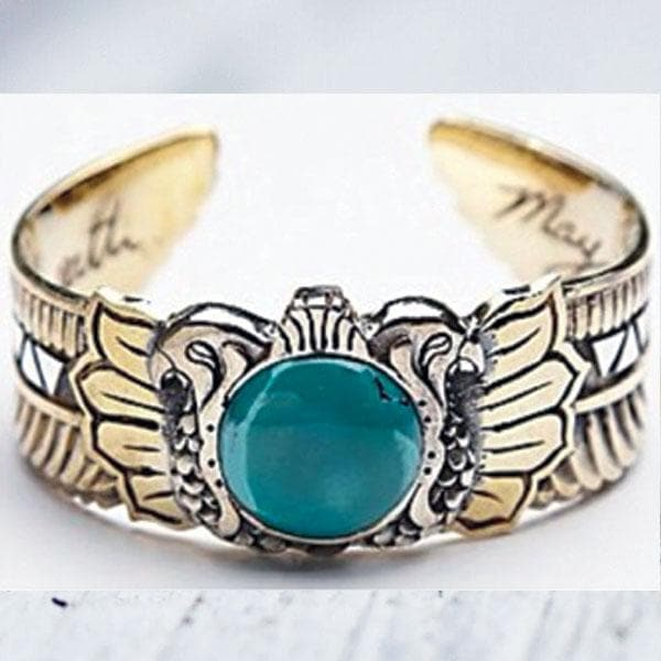 Scarab Cuff :: Turquoise