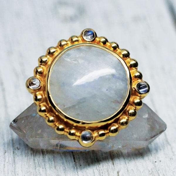 Cycle Ring ::  Moonstone