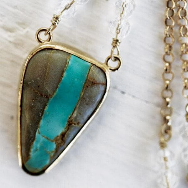 Utah Chrysocolla Necklace