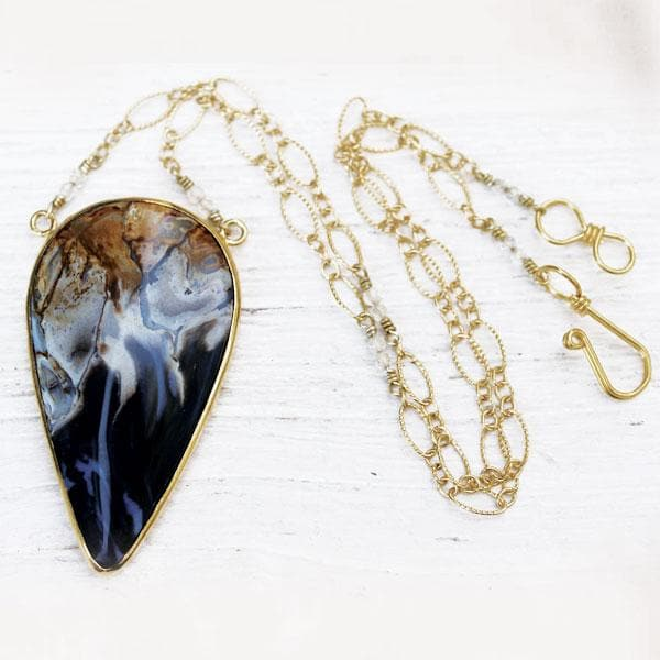 Petrified Palm Wood Necklace