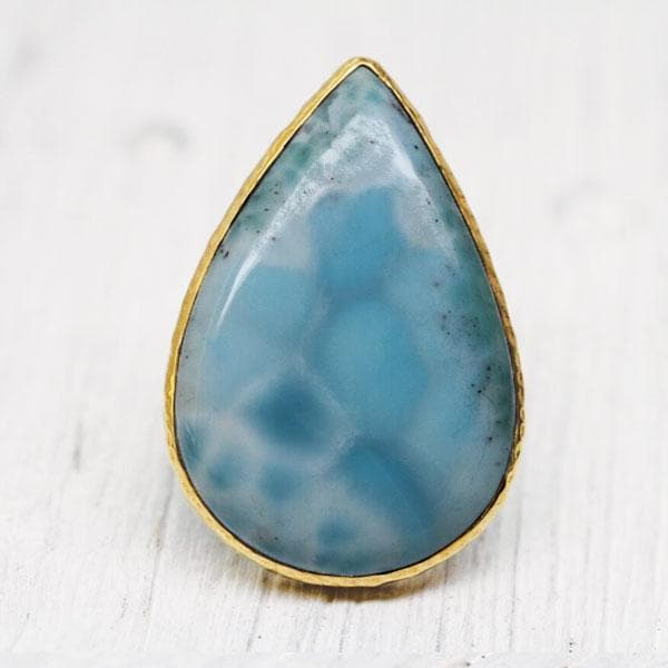 Grand  Larimar Ring