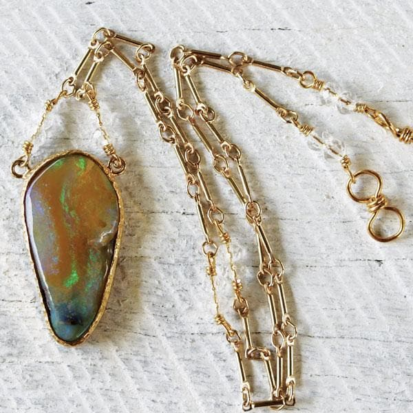 Quilpie Opal Necklace