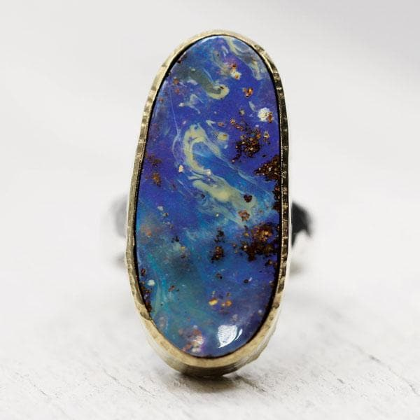 Quilpie Opal Ring