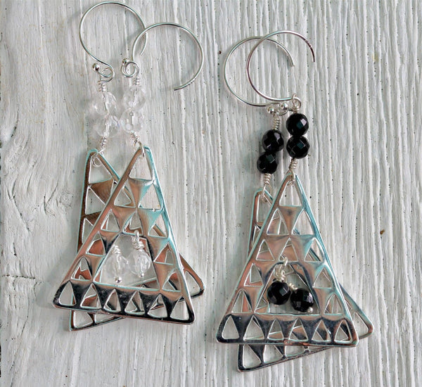 Silver Island Earrings || view more colors