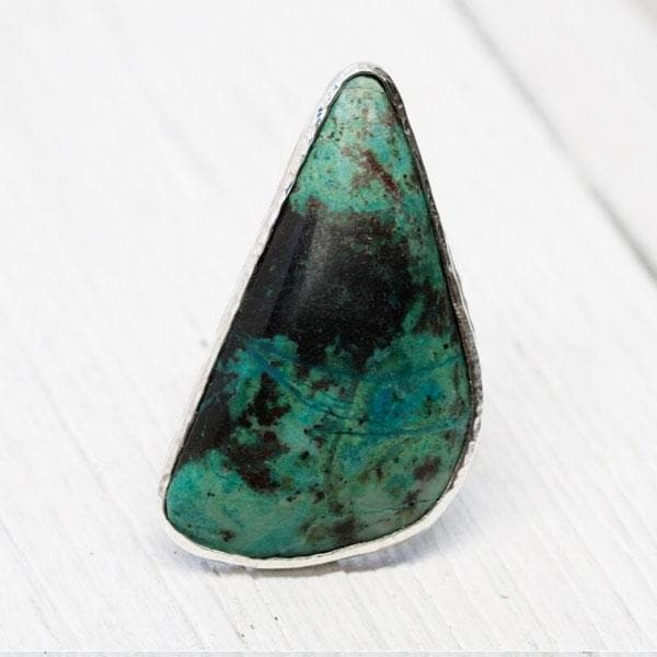 Grand Chrysocolla Ring