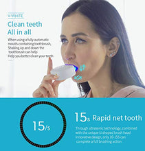 Load image into Gallery viewer, 360° Auto U-shape Sonic Toothbrush