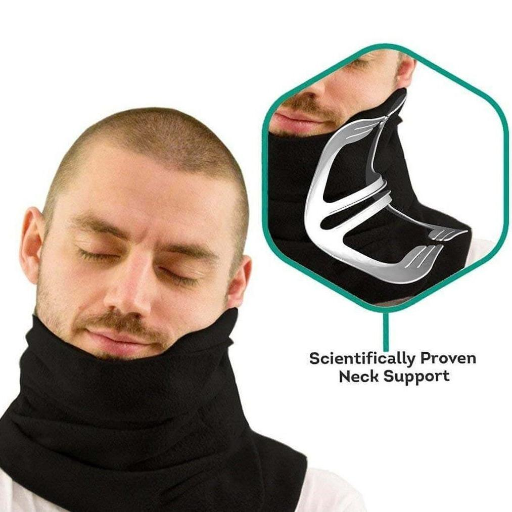 Neck Support Scarf Travel Pillow