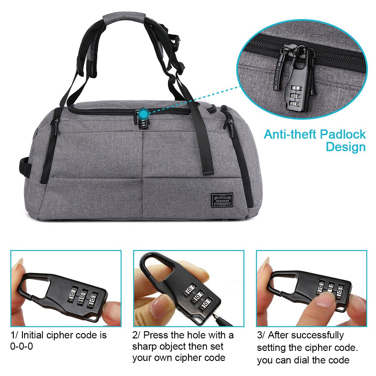 Multi-function Sport Duffel Bag