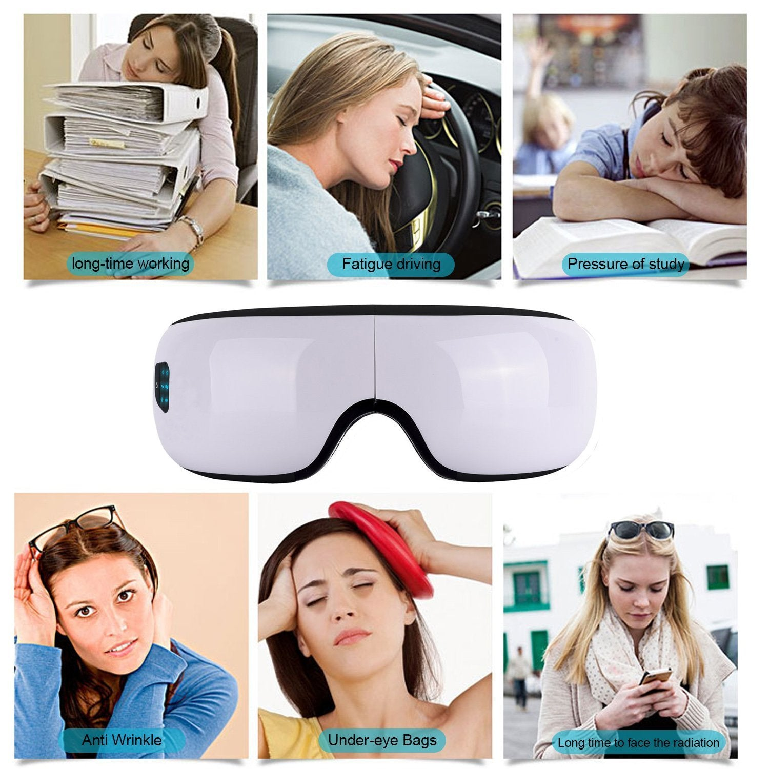 New 2019 iSee™ Smart Eye Massager