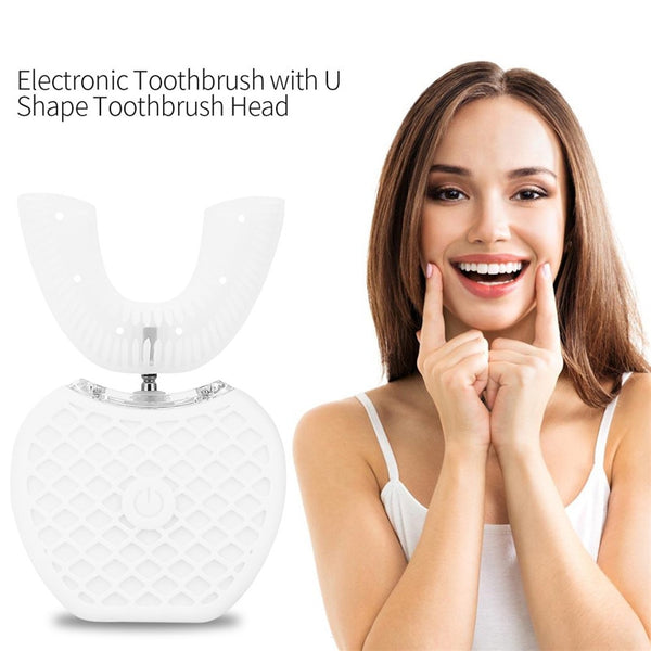 360° Auto U-shape Sonic Toothbrush