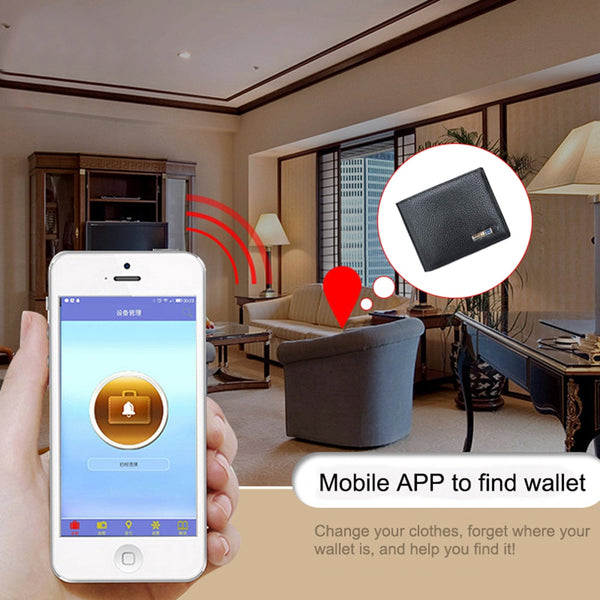 Anti-lost Smart Wallet
