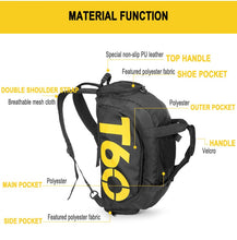 Load image into Gallery viewer, T60 3-way Sport Duffel Gym Bag
