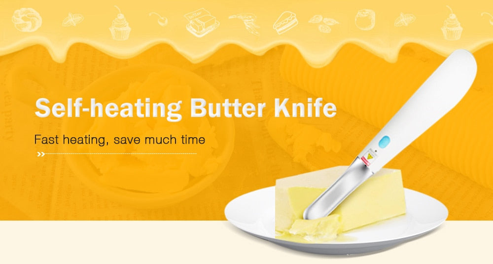 Electric Heated Butter Knife