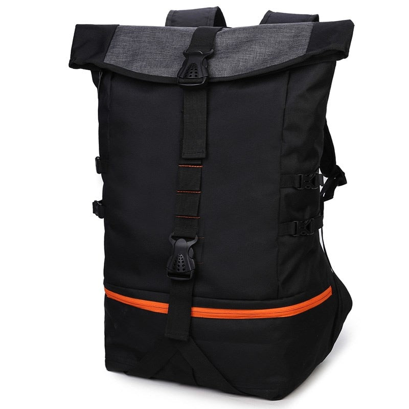 Men's Sporty Double-Compartment Backpack
