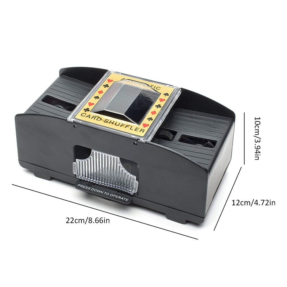 Automatic Poker Card Shuffler