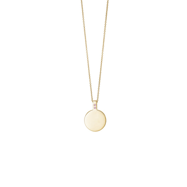 Amos Necklace - HIGH POLISHED GOLD