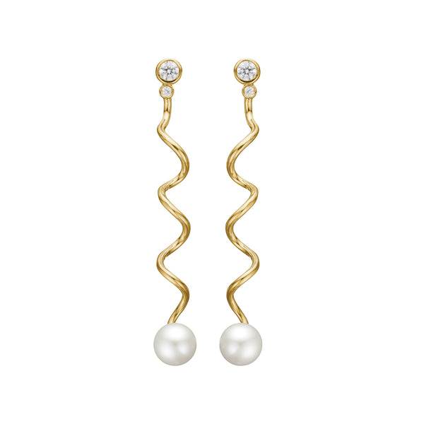 Beha Earring - HIGH POLISHED GOLD
