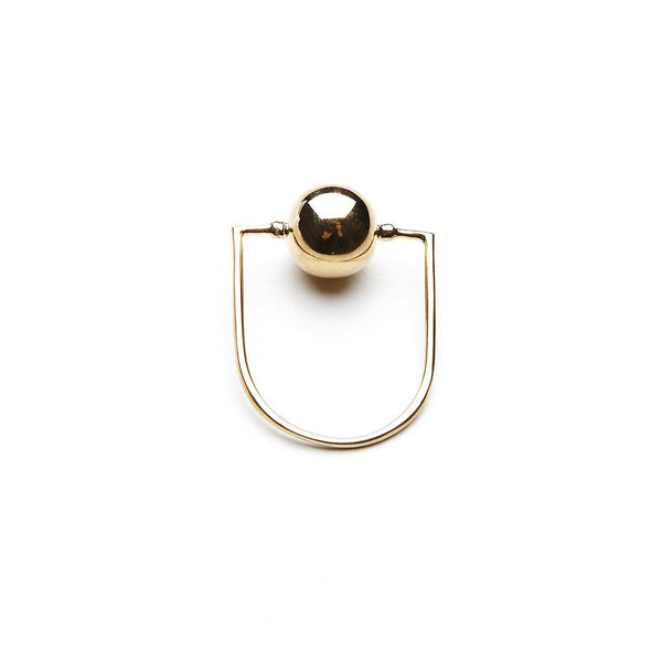 Casa ring - HIGH POLISHED GOLD