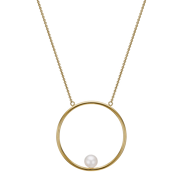 Cilla Necklace - HIGH POLISHED GOLD