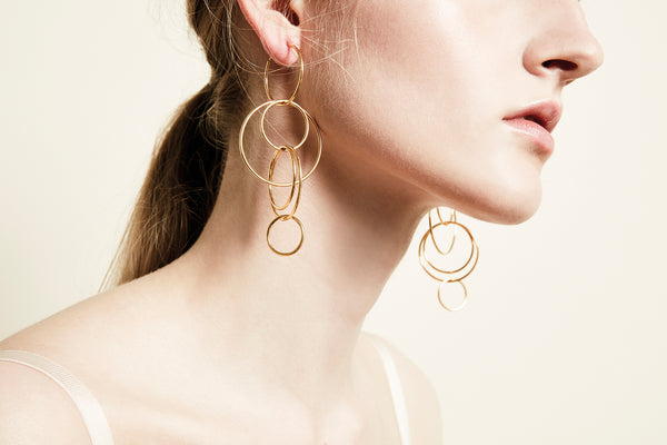 Alia Earring - HIGH POLISHED GOLD