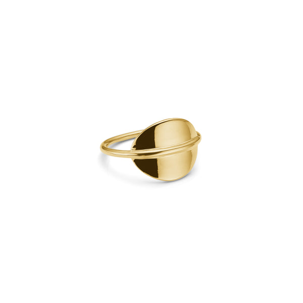 Duval Ring - HIGH POLISHED GOLD