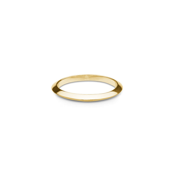 Faye Ring - HIGH POLISHED GOLD