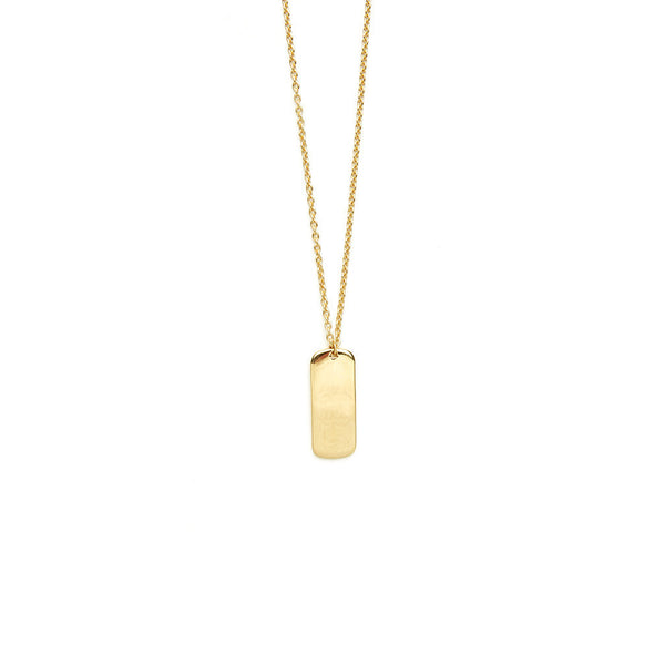 Gamma necklace - HIGH POLISHED GOLD