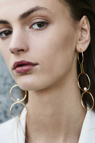 Jukes Creole Earring - HIGH POLISHED GOLD