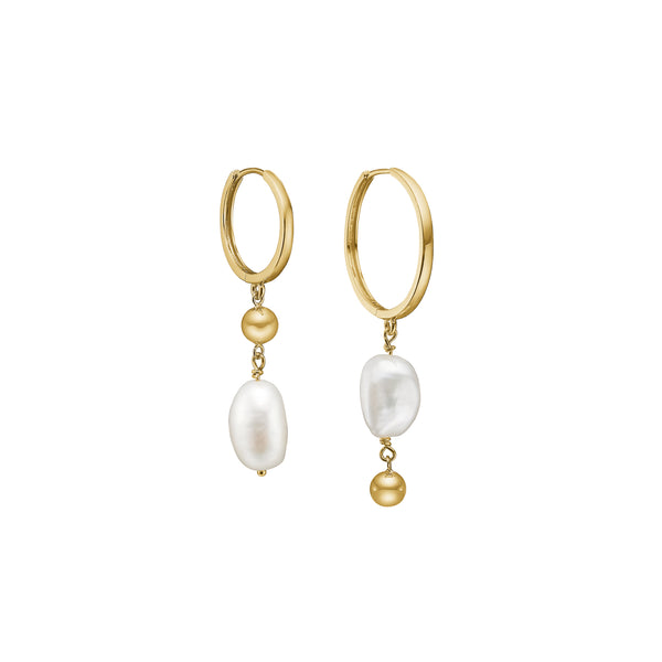 Jena Earrings - HIGH POLISHED GOLD