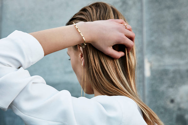 Juno Cuff - HIGH POLISHED GOLD