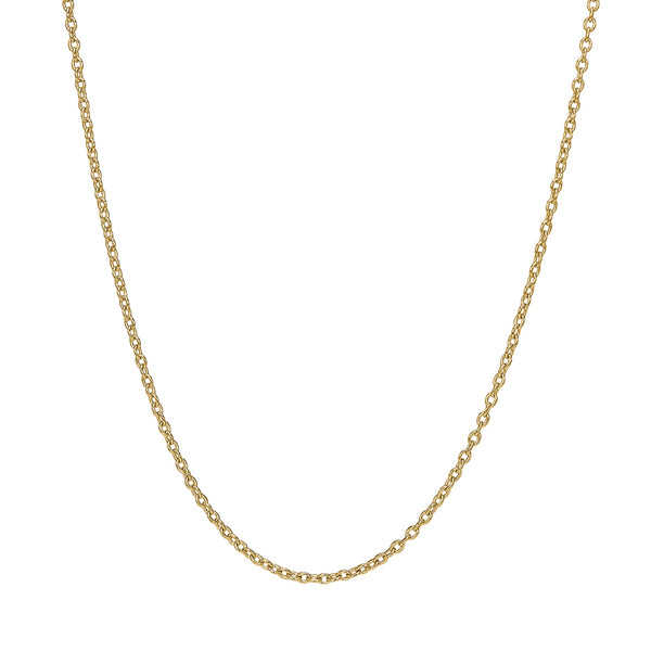 Luca Chain Necklace- 14 CARAT GOLD