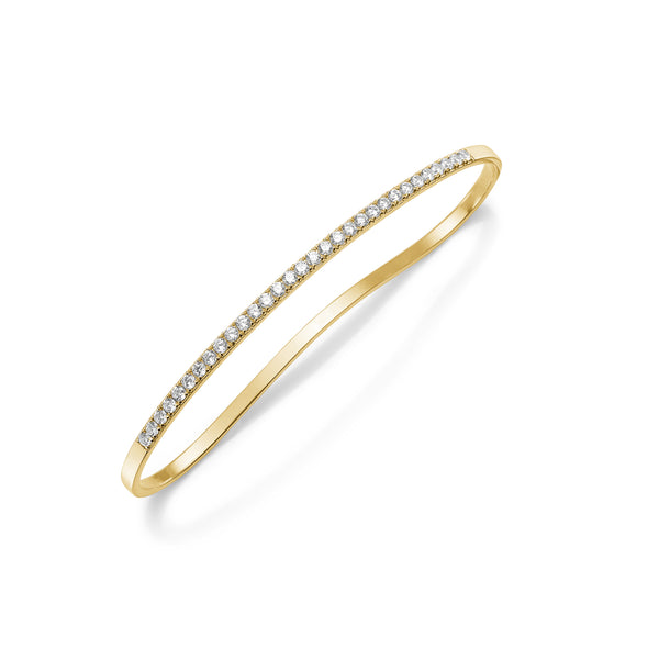 Mila Palm Hand Bracelet - HIGH POLISHED GOLD