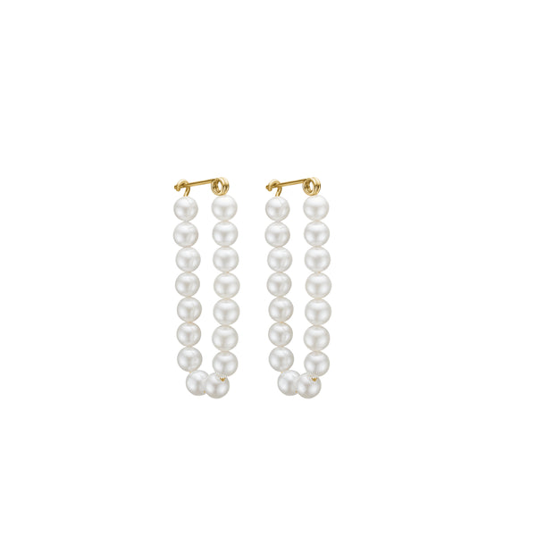 Sophie Pearl Earring - HIGH POLISHED GOLD
