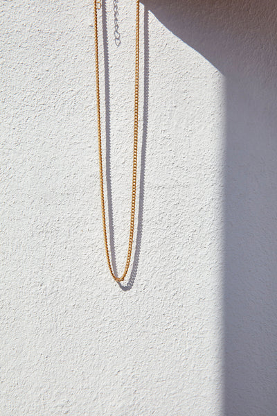 LANA CHAIN NECKLACE - HIGH POLISHED GOLD
