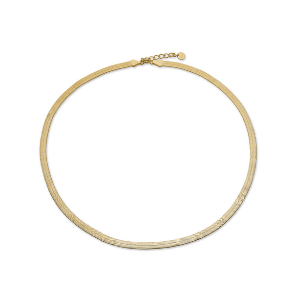 Vera Necklace - HIGH POLISHED GOLD
