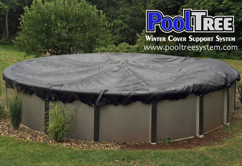 Above Ground Pool Winter Cover Support System Pooltree