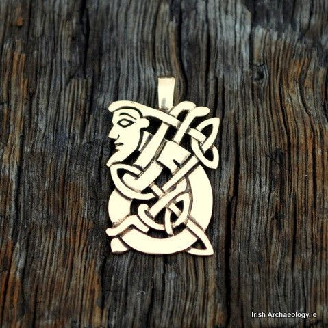 Book of Kells Figure Pendant