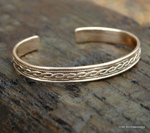 Bronze Celtic Interlace Bracelet