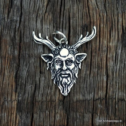 Silver Cernunnos Necklace