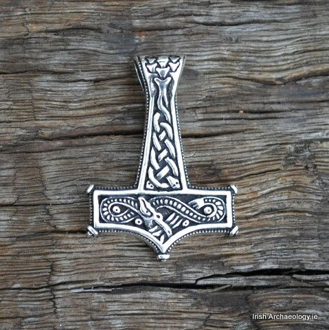Thor's Hammers and Viking Mjolnir Pendants