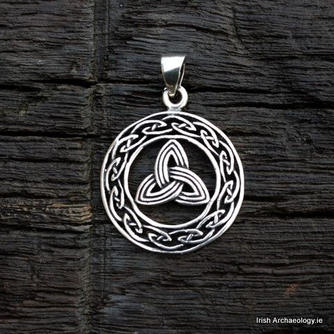 Silver Trinity Knot Necklace