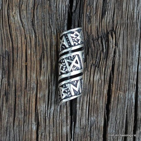 Silver Viking Beard/Hair Bead