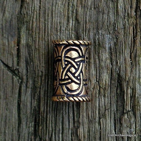 Bronze Celtic Hair Bead