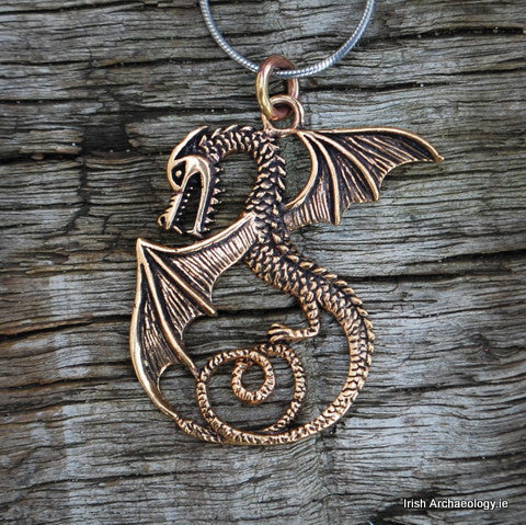 Bronze Dragon Pendant