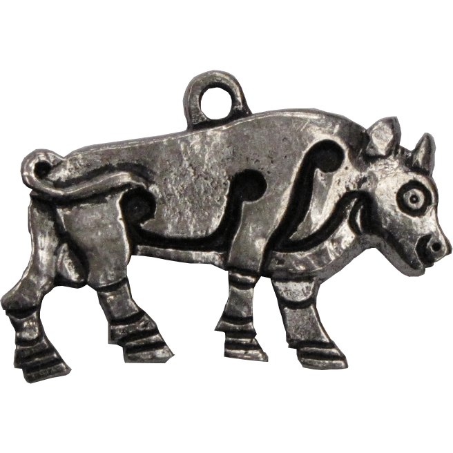 Pictish jewellery, burghead Pictish bull