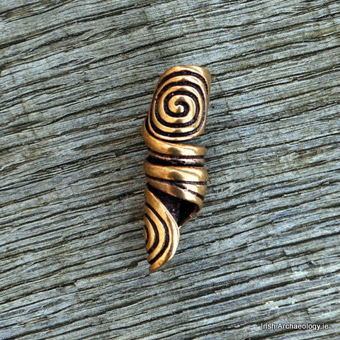 celtic hair bead