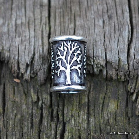 Silver Tree of Life Beard/Hair Bead