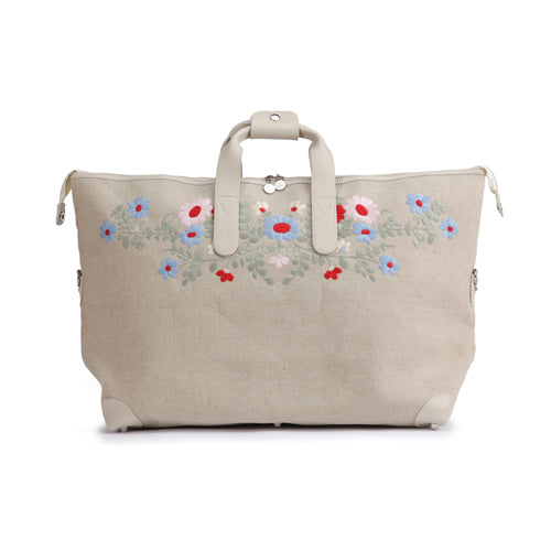 "GRAN BOLSO DE VIAJE ""EMBROIDERY MULTI COLOUR"""