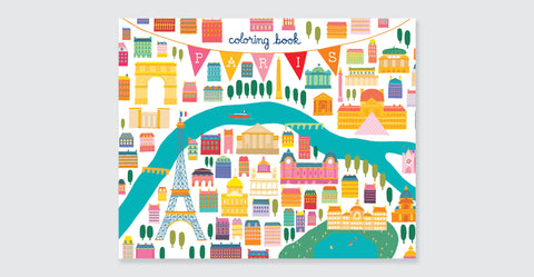 Paris Coloring Book: Mini Edition