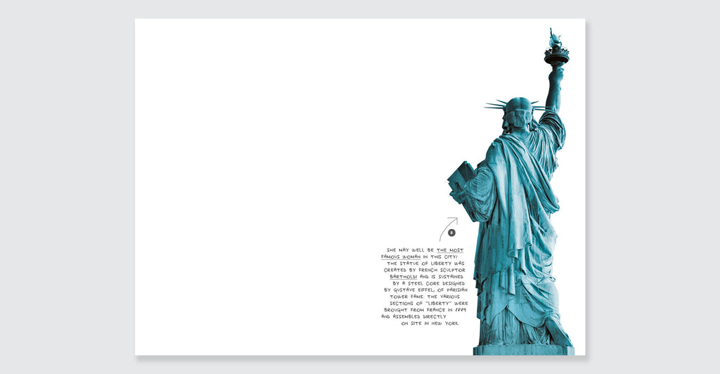New York Visual Notebook, Blue: Spread #7